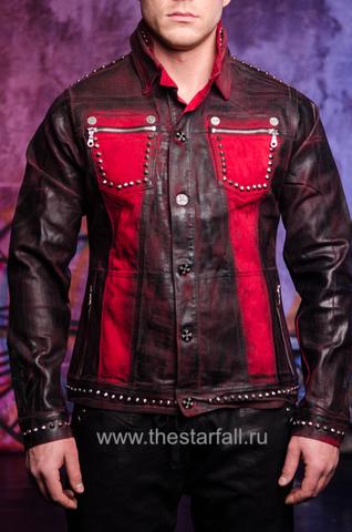 Куртка мужская джинсовая The Saints Sinphony TSJ012RB перед