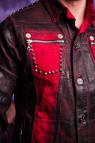 Куртка мужская джинсовая The Saints Sinphony TSJ012RB передний карман
