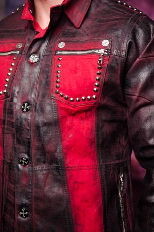 Куртка мужская джинсовая The Saints Sinphony TSJ012RB передний левый карман