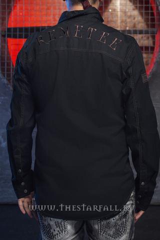 Remetee   Рубашка мужская RM255 спина