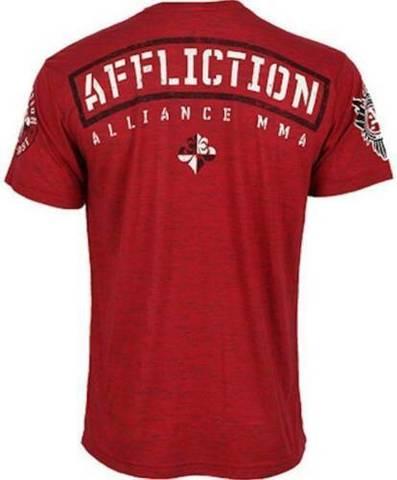 Affliction | Футболка мужская Alliance A8701 спина