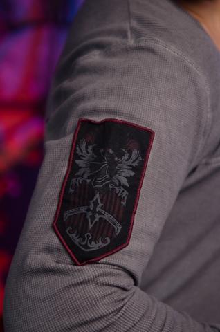 Пуловер Rebel Spirit RTH121414 нашивка на рукаве