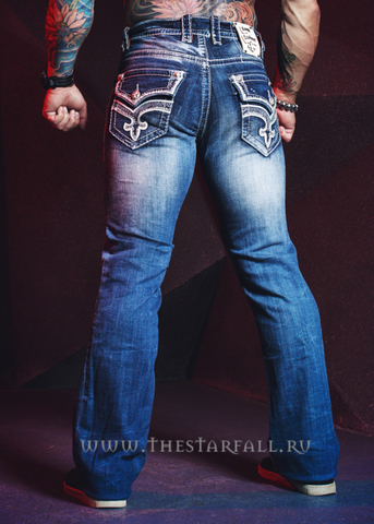 Джинсы Rock Revival Premium Ilion