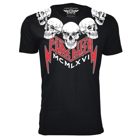 Футболка ROCK TILL DEATH (RTD) Rush Couture. Made in USA
