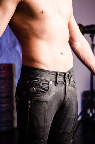 The Saints Sinphony | Мужские джинсы BLACK DIVINCI TSG216 передний карман