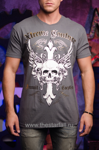Футболка ANNUIT in grey Xtreme Couture от Affliction