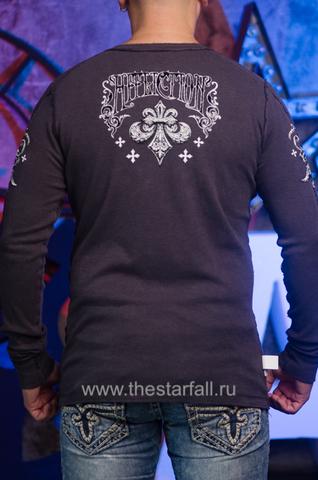 Affliction | Двусторонний мужской пуловер Affliction A226750 обратная сторона спина