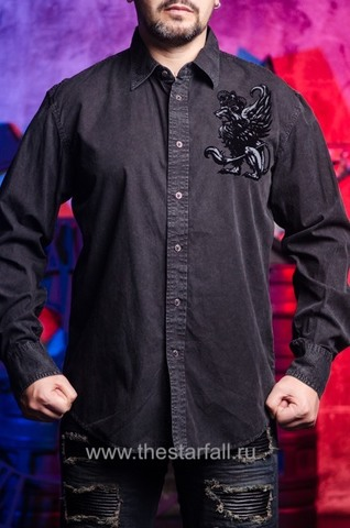 Affliction   Рубашка мужская A226882 перед