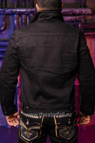 Rock Revival | Мужская джинсовая куртка DOHENY 218 TJ802-218 сзади