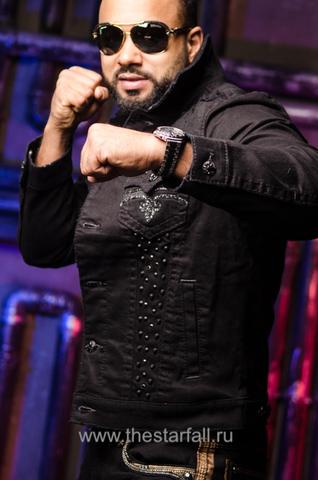 Rock Revival | Мужская джинсовая куртка DOHENY 218 TJ802-218 левый бок