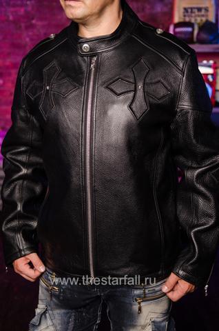 Куртка кожаная 7.17 STUDIO ST226860 перед