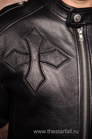 Куртка кожаная 7.17 STUDIO ST226860 правый бок