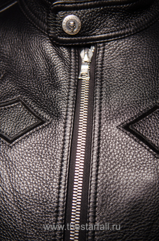 Куртка кожаная 7.17 STUDIO ST226860 перед детали