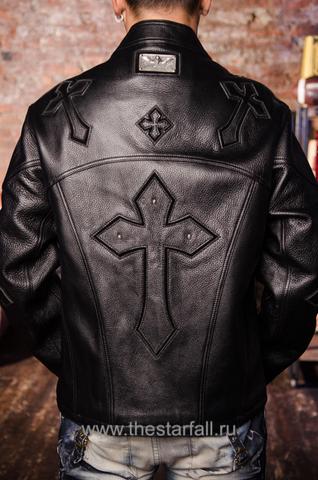 Куртка кожаная 7.17 STUDIO ST226860 спина