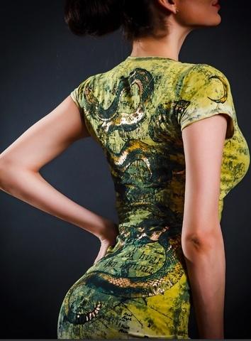 Платье Snake от Sanbenito S100
