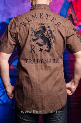 Remetee | Рубашка мужская RM226881 спина