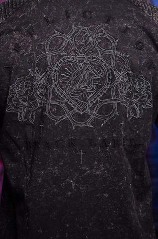 Affliction   Рубашка мужская TEMPER 110WV720 вышивка на спине