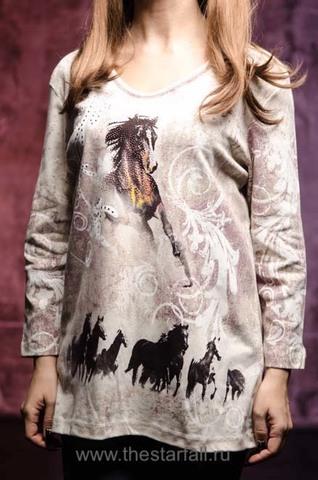 Женский пуловер Running Horses Cactus Bay