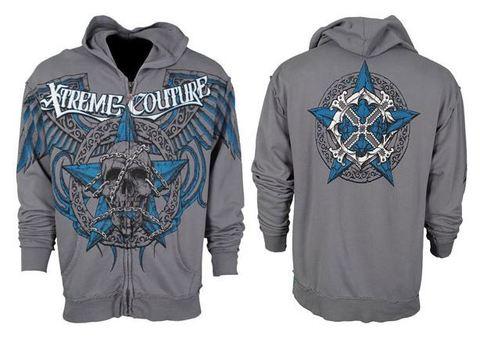 Xtreme Couture | Худи мужское Deputy X718 от Affliction перед и спина