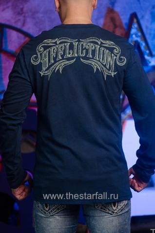 Affliction   Мужская футболка лонгслив CAUSEWAY спина