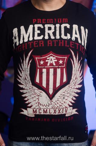 American Fighter   Пуловер мужской AF226746 от Affliction принт спереди