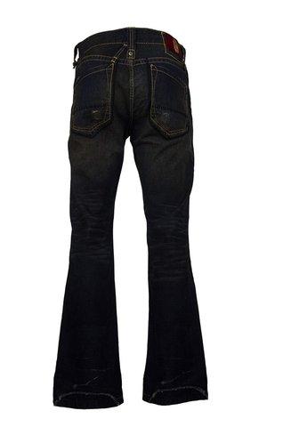 Remetee   Джинсы мужские RM3206 Premium от Affliction буткаты сзади