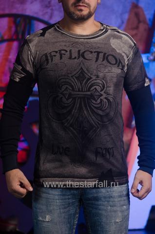 Affliction | Мужская футболка лонгслив A226744 перед