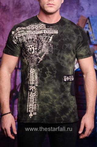 футболка Affliction BLACKPOOL ANGELS