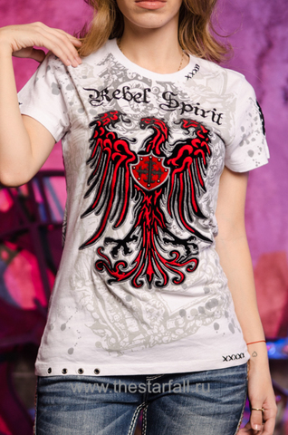 Футболка Rebel Spirit c орлом