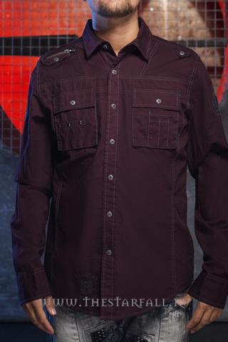 Remetee | Рубашка мужская RM254  перед
