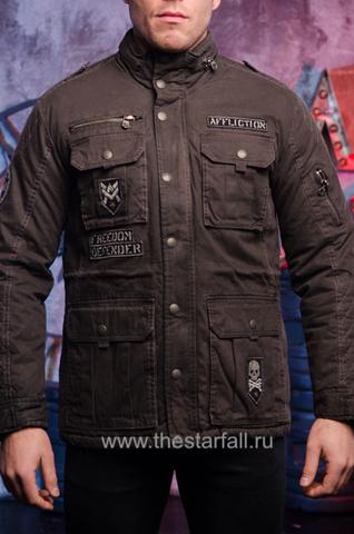 """Мужская утепленная куртка """"Double Clutch """"от  Affliction."""