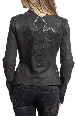 Куртка кожаная Affliction 64