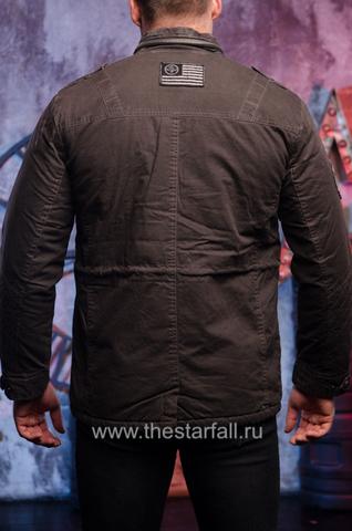Afflction   Куртка мужская утепленная Double Clutch 110OW316 спина