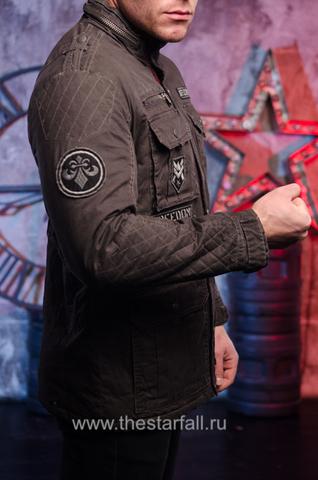 """Мужская утепленная куртка """"Double Clutch """"от  Affliction"""
