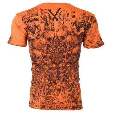 Xtreme Couture | Футболка мужская OFFERING ORANGE X170ORG от Affliction спина