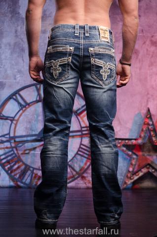 Мужские джинсы SAIF B203 BOOT CUT JEAN Rock Revival