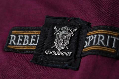 Футболка Rebel Spirit SSK131592 передний декоративный элемент с металлическим лого