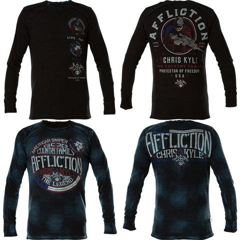 Двусторонний пуловер CK Veteran Affliction