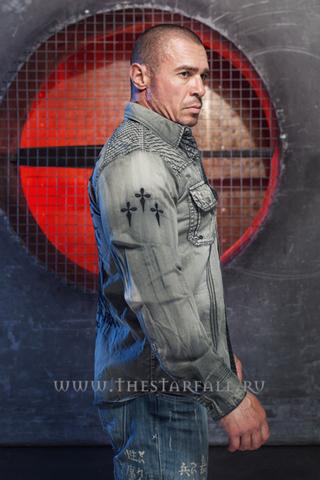 Affliction | Рубашка мужская Air Combat 110WV656 правый бок