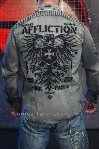 """Потрясающая рубашка """"Air Combat"""" Affliction"""