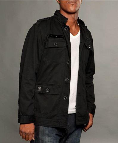 Куртка Rebel Spirit MJK121395 перед на модели