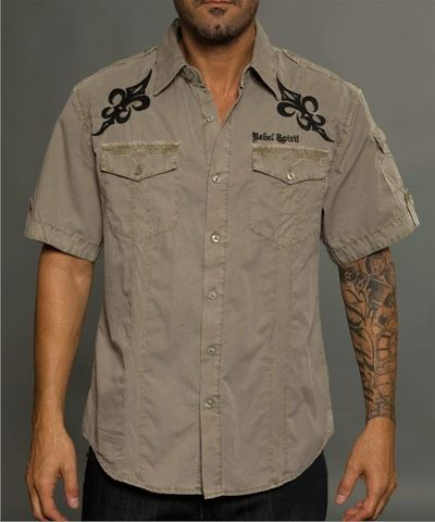 Рубашка Rebel Spirit SSW121304 перед