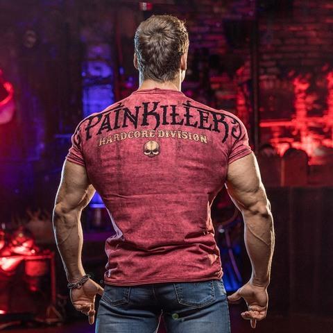 PAINKILLER | Футболка мужская Samuray спина