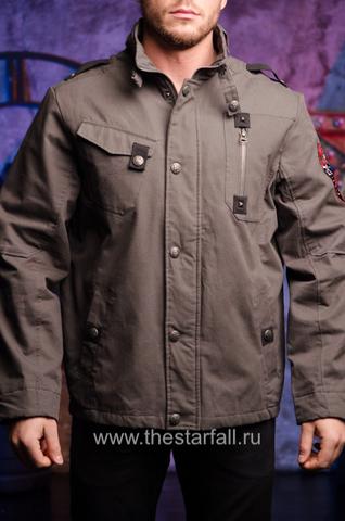 Куртка Rebel Spirit MJK131651 перед на модели