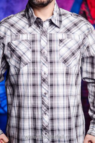 Affliction   Рубашка мужская Z415314 перед
