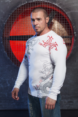 Xtreme Couture | Пуловер мужской Saigon Falls X1537 от Affliction левый бок