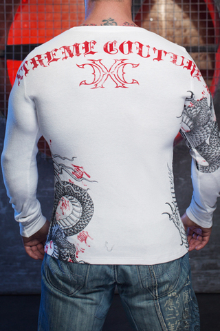 Xtreme Couture | Пуловер мужской Saigon Falls X1537 от Affliction спина