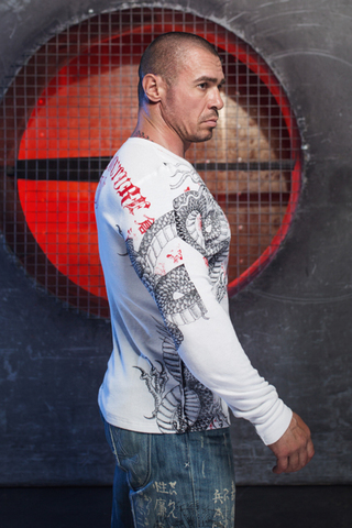 Xtreme Couture | Пуловер мужской Saigon Falls X1537 от Affliction правый бок