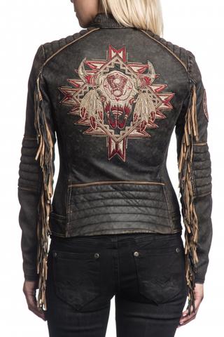 Куртка кожаная Affliction 24621