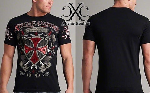 Xtreme Couture   Футболка мужская Crusade Black X840 от Affliction